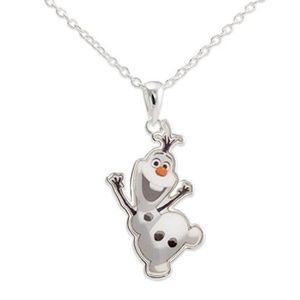 Disney Frozen Olaf Pendant Necklace in Gift Box